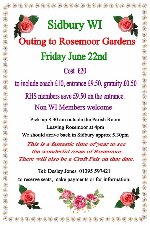 WI Outing to Rosemoor