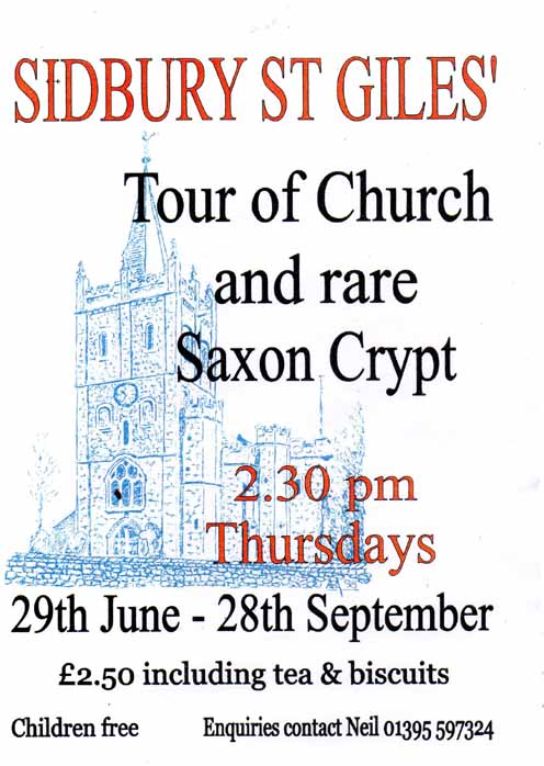 St Giles Church and Crypt tours