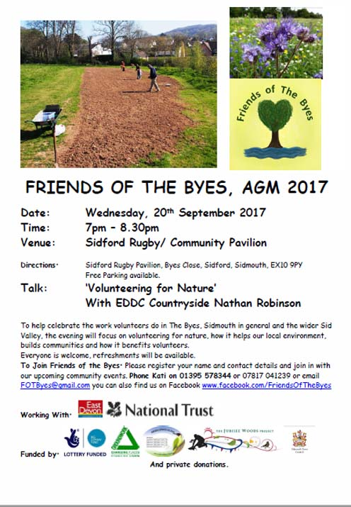 Friends Of The Byes AGM