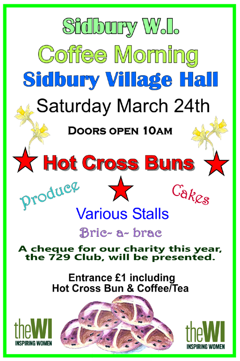 Hot Cross Bun�Coffee Morning