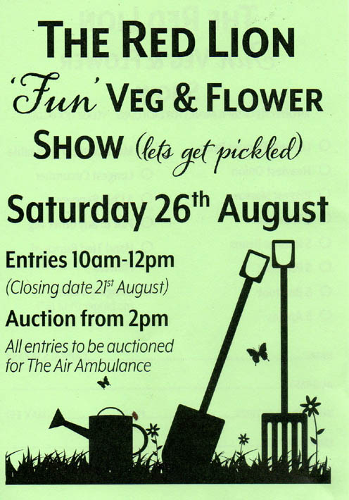 Red Lion Veg and Flower Show