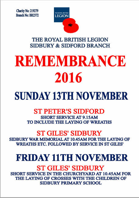 British Legion Remembrance