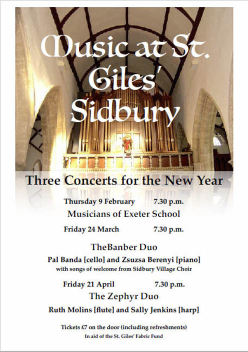 Concert at St Giles