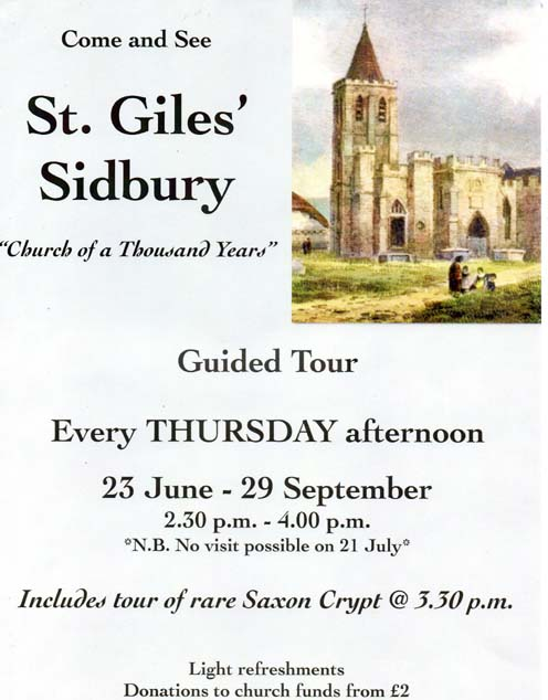 St Giles Guided Tour