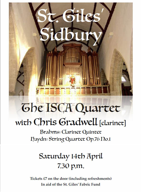 St. Giles Concert