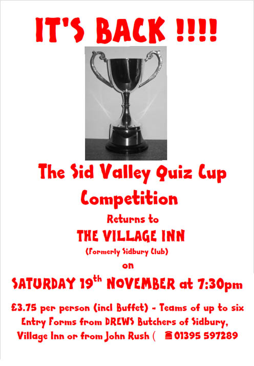 Sid Valley Quiz Cup