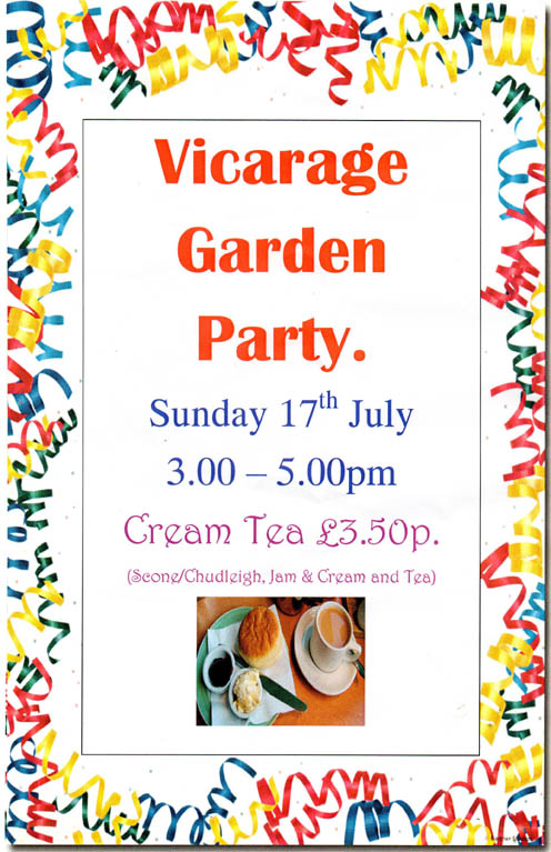 Vicarage Garden Party
