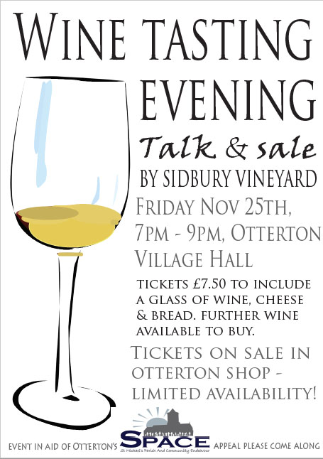 Sidbury Vineyard Wine Tasting Evening